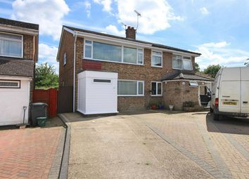 Thumbnail 4 bed semi-detached house for sale in Medley Road, Rayne, Braintree, Essex