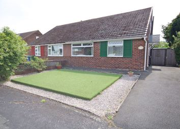 Thumbnail 2 bedroom semi-detached bungalow for sale in Monroe Close, Woolston, Warrington