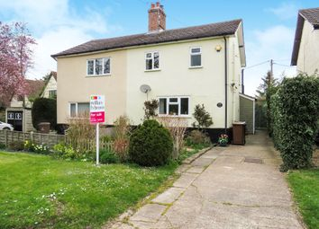 Thumbnail 2 bed semi-detached house for sale in Vicarage Road, Foulden, Thetford