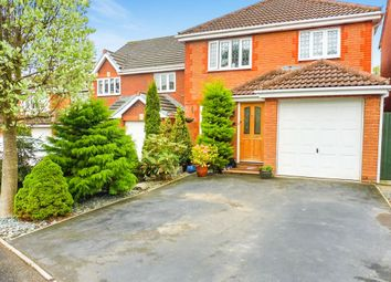 Thumbnail 3 bedroom detached house for sale in Ebor Close, Swindon