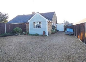 Thumbnail 2 bedroom semi-detached bungalow for sale in Barton Road, Thurston, Bury St Edmunds