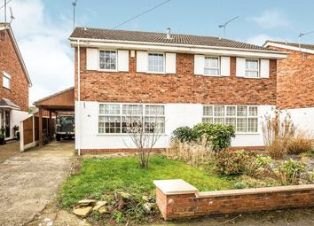 Thumbnail 3 bed semi-detached house for sale in Oldfield Drive, Vicars Cross, Chester