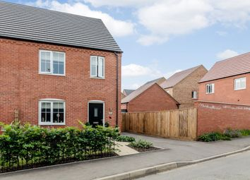 Thumbnail 3 bedroom semi-detached house for sale in Bishy Barny, Swaffham, Norfolk