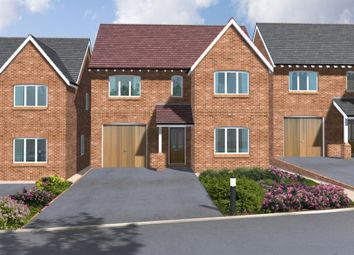 Thumbnail 4 bed detached house for sale in Dovecote Road, Newthorpe