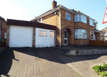 Thumbnail 3 bedroom semi-detached house for sale in Woodgate Drive, Birstall, Leicester, Leicestershire