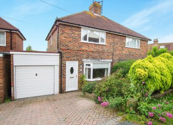 Thumbnail 2 bed semi-detached house for sale in Hamsey Crescent, Lewes