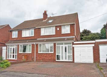 Thumbnail 5 bedroom semi-detached house for sale in Cliveden Avenue, Aldridge, Walsall