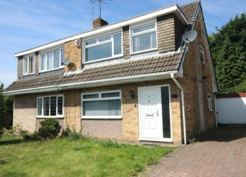 Thumbnail 3 bedroom semi-detached house for sale in Tottenham Drive, Wythenshawe, Manchester