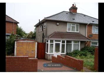 Thumbnail 3 bed semi-detached house to rent in Hoggs Lane, Birmingham