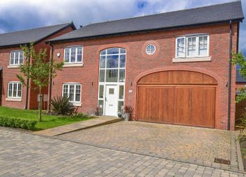 Thumbnail 4 bed detached house for sale in Meadowside, Smallwood, Sandbach