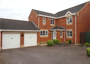Thumbnail 4 bed detached house to rent in Bourton Way, Wellingborough