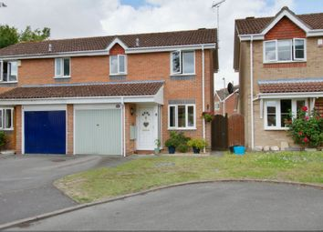 Thumbnail 3 bed semi-detached house for sale in Durley Close, Andover