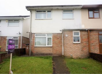 Thumbnail 3 bed semi-detached house for sale in Pen Y Cae, Caerphilly