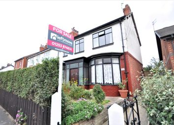 Thumbnail 4 bed semi-detached house for sale in Poulton Road, Fleetwood, Lancashire