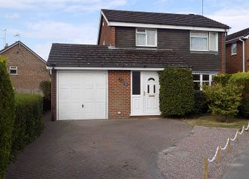 Thumbnail 3 bed property to rent in Poplar Crescent, Ashbourne, Derbyshire