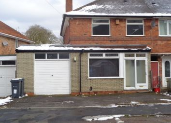Thumbnail 3 bed semi-detached house to rent in Oakhurst Road, Acocks Green Birmingham