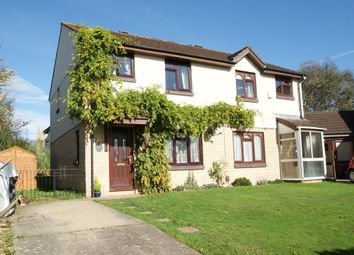 Thumbnail 3 bed semi-detached house for sale in Woodmere Way, Kingsteignton, Newton Abbot