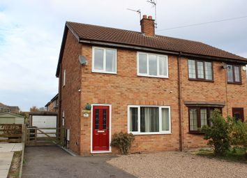 Thumbnail 3 bed semi-detached house for sale in Millfield Drive, Camblesforth, Selby