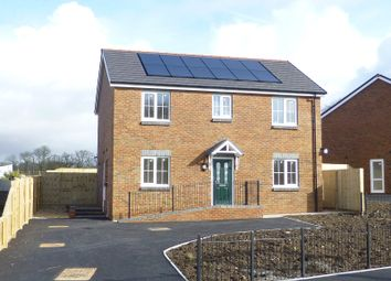 Thumbnail 4 bed detached house for sale in Parc Nant Y Ffin, Colonel Road, Betws, Ammanford, Carmarthenshire.