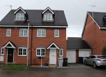 3 bed mews house to rent in Pickering Way, Stapeley, Nantwich, Cheshire CW5
