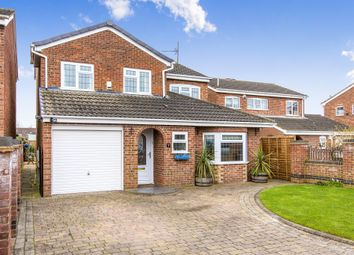 Thumbnail 4 bed detached house for sale in Welland Close, Raunds, Wellingborough
