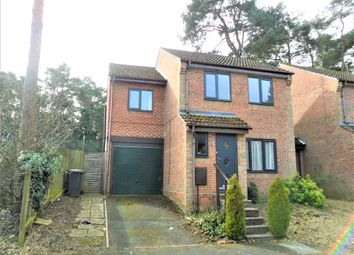 Thumbnail 3 bedroom detached house to rent in Rydal Close, Bordon