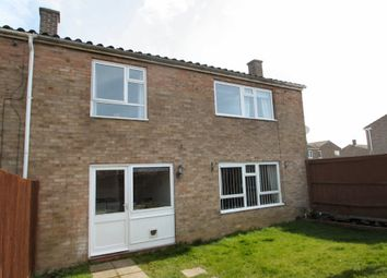 Thumbnail 3 bedroom end terrace house to rent in Snowdon Court, Haverhill