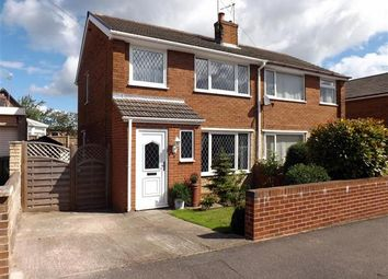 Thumbnail 3 bedroom semi-detached house for sale in Bramlyn Close, Clowne, Chesterfield