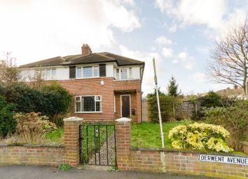 Thumbnail Semi-detached house for sale in Derwent Avenue, Kingston