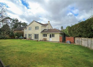 Thumbnail 5 bed detached house for sale in Beaufront Road, Camberley, Surrey
