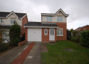 Thumbnail 3 bed detached house for sale in Woodlea, Forest Hall, Newcastle Upon Tyne