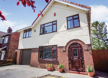 Thumbnail 4 bed detached house for sale in Earle Road, Stockport