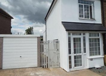 Thumbnail 2 bed end terrace house to rent in Church Road, Swanscombe