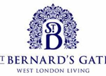 Thumbnail 1 bed flat for sale in St Bernard's Gate, Southall, London