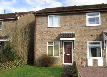 Thumbnail 2 bed terraced house for sale in Ickworth Close, South Wootton, King's Lynn, Norfolk