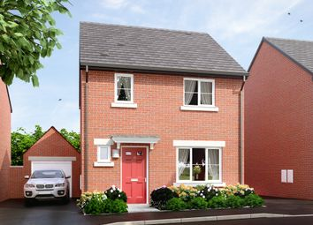 "Thumbnail 3 bed semi-detached house for sale in ""The Hawford"" at Main Road, Kempsey, Worcester"
