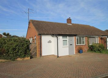 Thumbnail 1 bed semi-detached bungalow for sale in Tudor Close, Bromham, Beds