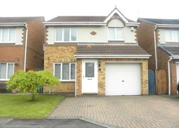 Thumbnail 3 bed detached house to rent in Holyfields, West Allotment, Newcastle Upon Tyne