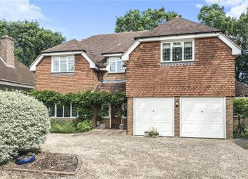 Thumbnail 5 bed detached house for sale in Wey Manor Road, Addlestone, New Haw, Surrey