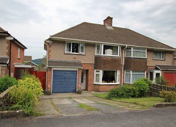 Thumbnail 3 bed semi-detached house for sale in Hafod Cwnin, Carmarthen, Carmarthenshire