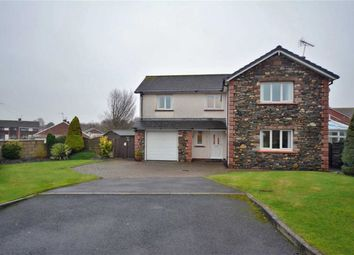 Thumbnail 4 bed detached house for sale in Hodgson Gardens, Millom, Cumbria