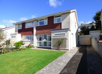 Thumbnail 3 bedroom semi-detached house for sale in The Grove, Plymstock, Plymouth, 7Dy.