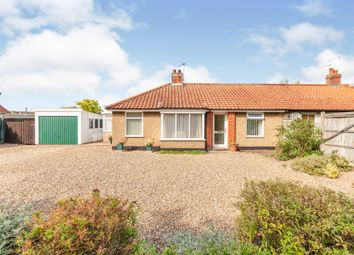 Thumbnail 3 bed semi-detached bungalow for sale in Loddon Road, Ditchingham, Bungay
