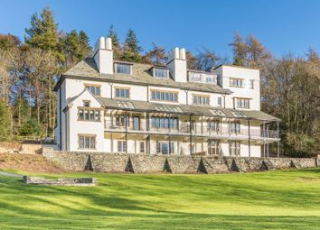 Thumbnail 2 bed flat for sale in Apartment 1, Applethwaite Hall, Windermere