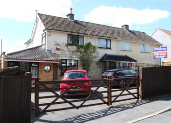 Thumbnail 4 bed semi-detached house for sale in Rogers Close, Clutton, Bristol