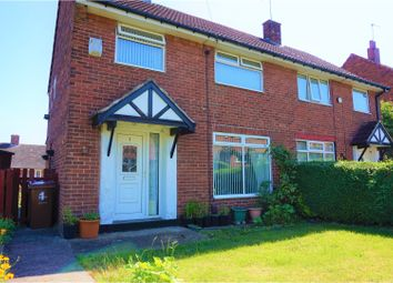 Thumbnail 3 bedroom semi-detached house for sale in Whincover View, Leeds