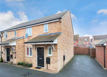 Thumbnail 3 bed end terrace house for sale in Dewar Close, Corby