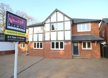 Thumbnail 4 bed semi-detached house for sale in Little Green Lane, Chertsey