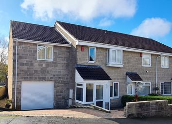 Thumbnail 4 bed end terrace house for sale in Oldlands Close, Plymouth