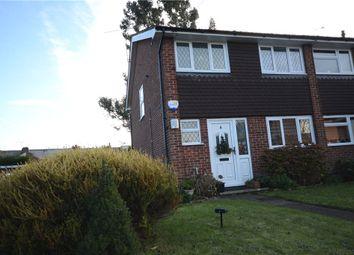 Thumbnail 3 bed semi-detached house for sale in Lea Close, Badshot Lea, Farnham